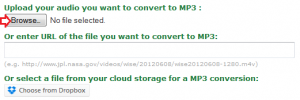 File conversion instructions 1