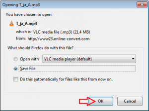 File conversion instructions 3